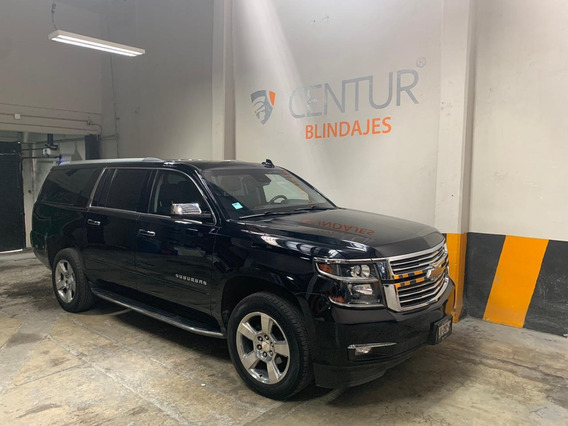 Chevrolet Suburban Premier 2018 Nivel 3 Blindada