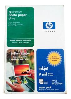 Papel Fotográfico Hp X 100 Unid