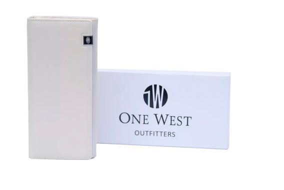 Billetera De Mujer One West/ Yk776 Con Estuche