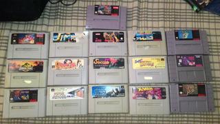 Diversos Cartuchos De Super Nintendo