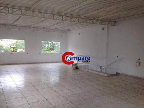Imagem 1 de 5 de Salão Para Alugar, 100 M² Por R$ 2.200/mês - Jardim Adriana - Guarulhos/sp - Sl0127