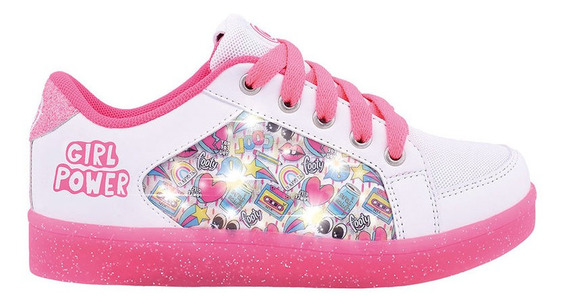 Zapatillas Footy Girl Power Con Luces Led