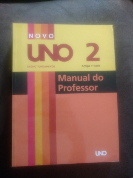 Novo Uno 2-antiga 1 Série-manual Do Professor