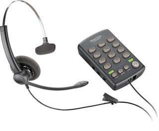 Telefono Analogico De Diadema Plantronics T110, Tieqro