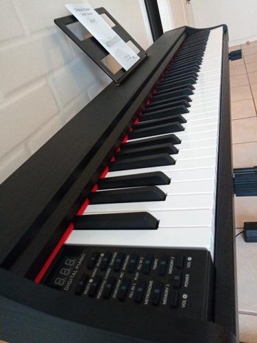 Nouva - Piano Digital Eléctrico De 88 Teclas. Con Atril