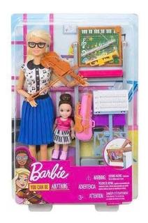 Barbie Maestra De Musica Mattel