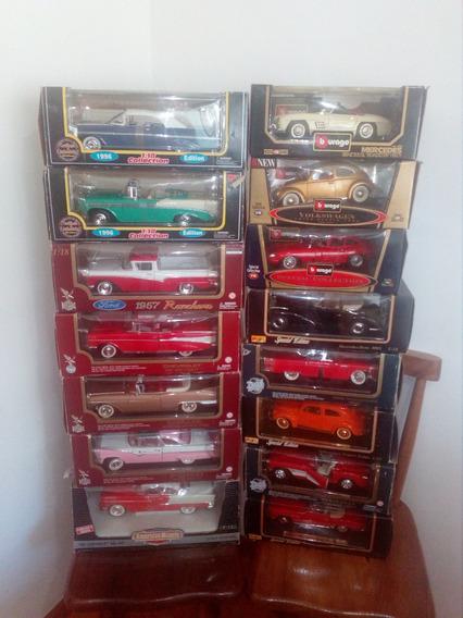 Carros De Coleccion A Escala 1.18 En Muy Buen Estado