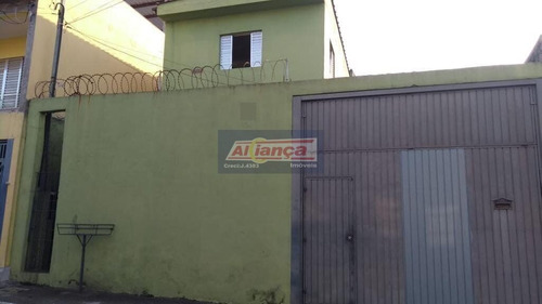Sobrado Com 4 Dormitórios À Venda, 200 M²  - Parque Industrial Cumbica - Guarulhos/sp - Ai14925