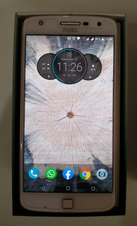Vendo O Permuto Motorola Moto Z Play 32gb - Blanco Impecable