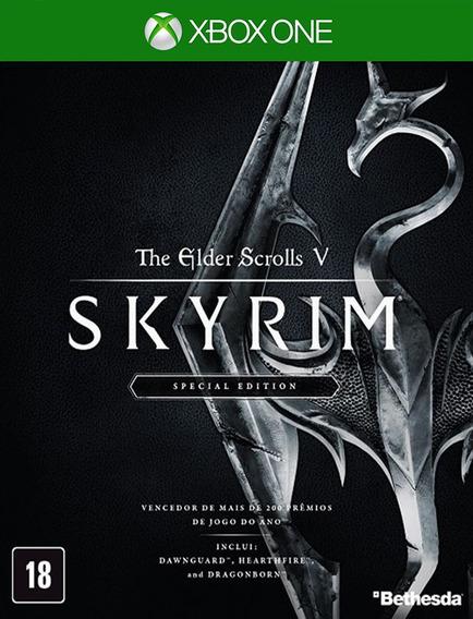 The Elder Scrolls V Skyrim Special Xbox - Original (25 Díg)
