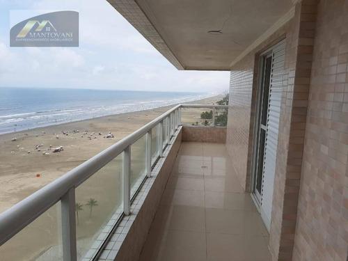 Cobertura Com 3 Dormitórios À Venda, 192 M² Por R$ 1.499.000 - Aviação - Praia Grande/sp - Co0048