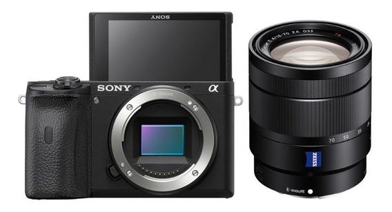 Sony A6600 Com Lente T * E 16-70mm F/4 Za Oss - Lj. Platinum