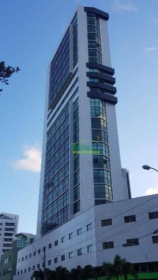 Sala Comercial À Venda, Boa Vista, Recife. - Sa0056