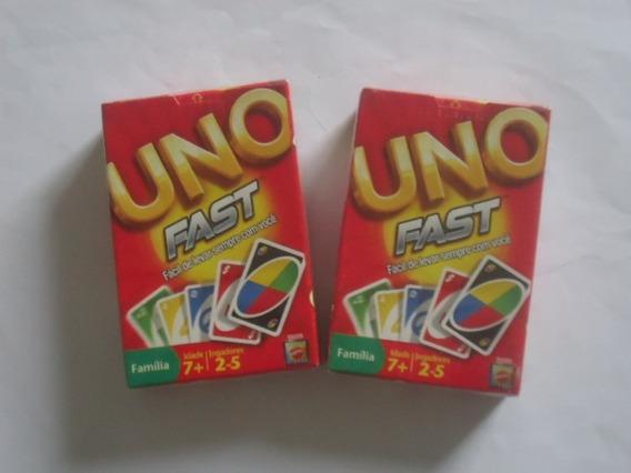 2 Uno Fast Original Mattel