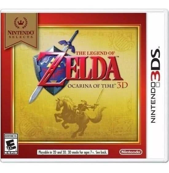 The Legend Of Zelda: Ocarina Of Time 3d - Novo Lacrado !