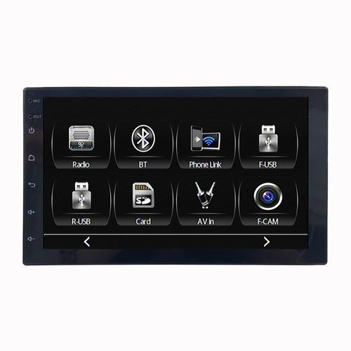 Imagen 1 de 6 de Auto Radio Full Hd 1080p Usb Sd Bluetooth + Espejo (android)