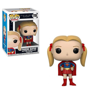 Funko Pop #705 - Phoebe Buffay As Supergirl - Friends