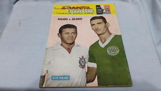Gazeta Esportiva Ilustrada 238 Set/63 Poster Capa Palmeiras