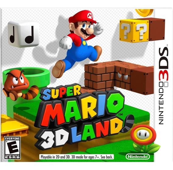 Super Mario 3d Land 3ds Mídia Física Novo Lacrado