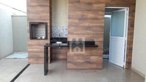 Imagem 1 de 13 de Casa Com 3 Dormitórios À Venda, 160 M² Por R$ 790.000,00 - Recreio Das Acácias - Ribeirão Preto/sp - Ca0455