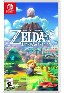 The Legend Of Zelda: Links Awakening - Juego Físico Switch