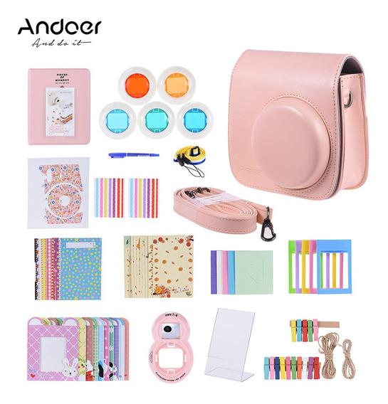 Andoer 14 Em 1 Kit Acessórios Para Fujifilm Instax Mini