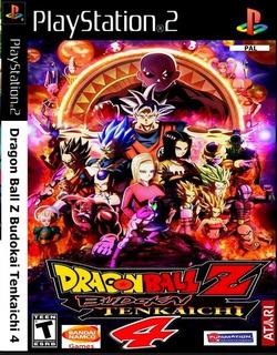 Patch Dragon Ball Z Budokai Tenkaichi 4 Dublado Ps2