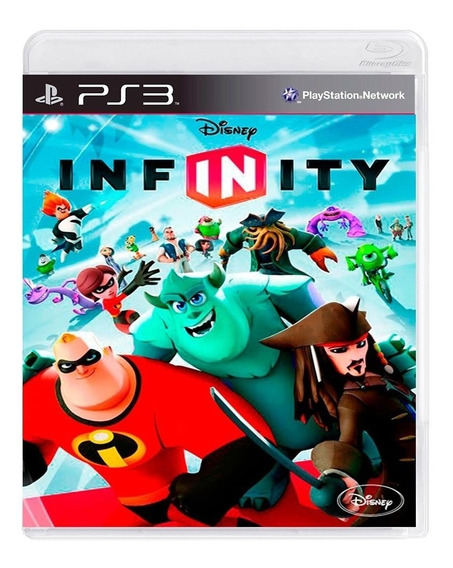 Disney Infinity 1.0 Ps3   Mídia Física Original