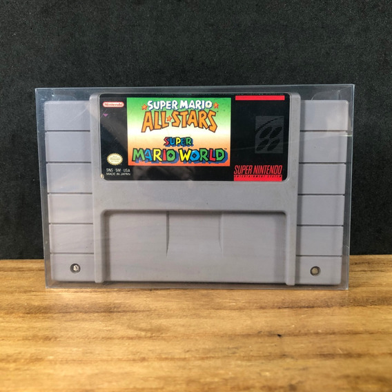 Super Mario All Stars + Super Mario World 100% Original Snes