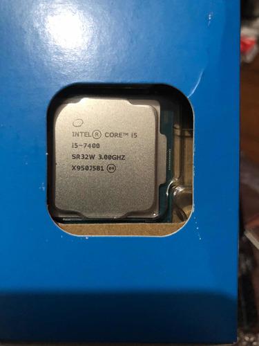 Processador Intel I5 7400 Com Caixa Fechada,sem Usado