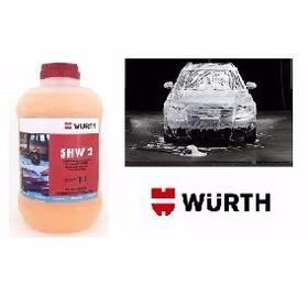 Shampoo Automotivo Com Cera Shw-2 Wurth 1litro Jet