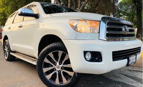 Toyota Sequoia Platinum Factura Original Un Dueño