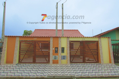 Ch50 Casa Nova 2 Quartos Varanda Coberta Com Churrasqueira