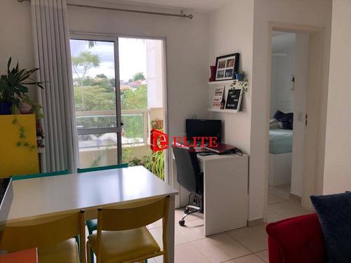 Imagem 1 de 18 de Apartamento Com 2 Dormitórios À Venda, 50 M² Por R$ 225.000,00 - Jardim América - São José Dos Campos/sp - Ap4206