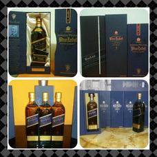 Etiqueta Azul Blue Label Whisky Johnnie Walker Red Label