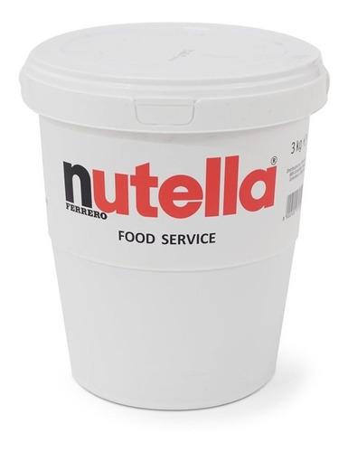 Imagen 1 de 1 de Nutella Ferrero Food Service (3kg) Tienda Fisica
