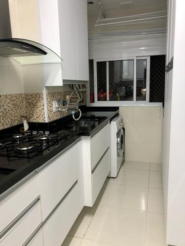 Imagem 1 de 6 de Belo Apartamento À Venda No Condomínio Residencial Antonello Club, Vila Rubens, Mogi Das Cruzes, Sp - Sp - Ap0031_colmea