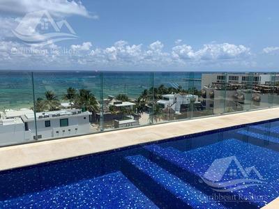 Departamento En Venta En Playa Del Carmen Riviera Maya Cruz Con Mar