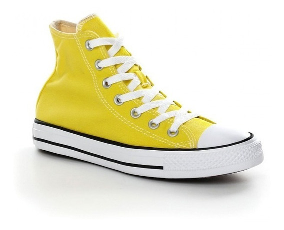 all star converse mujer amarillas