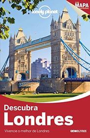 Livro Lonely Planet Descubra Londres - Guia Das Cidades Mapa