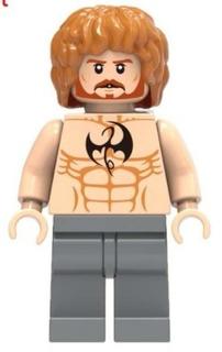 Figura Iron Fist Bloques De Construccion