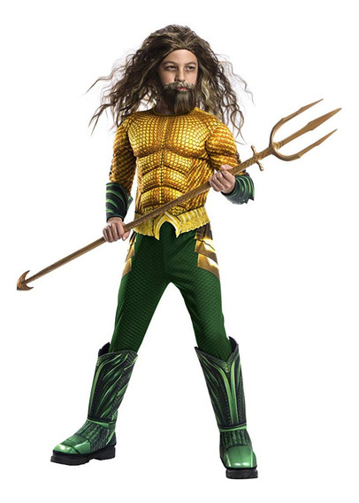 Disfraz Niño Aquaman La Película 5 A 7 Años