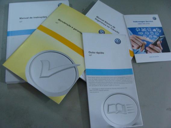 Kit Completo Manual Proprietário Vw Up! Up Original Lacrado