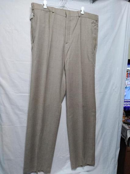 Pantalón De Vestir Lana Philippe D Acier Talle 52