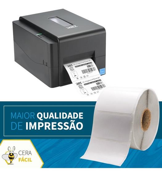 Bobina Etiqueta Adesiva 60x40 Para Impressora Térmica - 5un