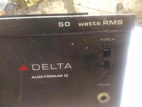 Amplificador Delta 50 Wats Rms Com Defeito