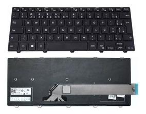 Teclado Notebook Dell Inspiron 14 Serie 3000 I14-3442-a10 Br