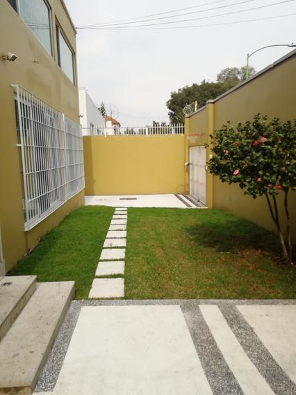 Casa Renta Lomas De Chapultepec 3r 2.5b4 Autos Tv 90mp
