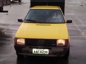 Fiat Uno 1.5 R Motor Argentino Cor Amarelo