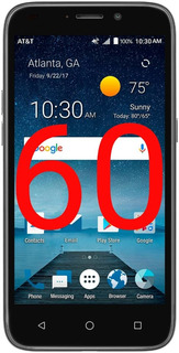 Telefono Celular Android 7.0 Zte Maven 3 1gb Ram (65)